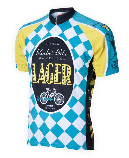 This cycling jersey is made out of DrySport Polyester fabric for full  breathability. 16